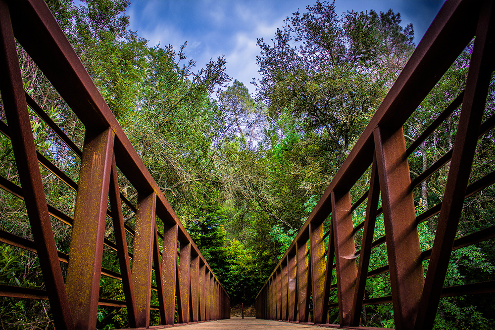 Walking Trail and Bridge El Dorado Hills CA_01