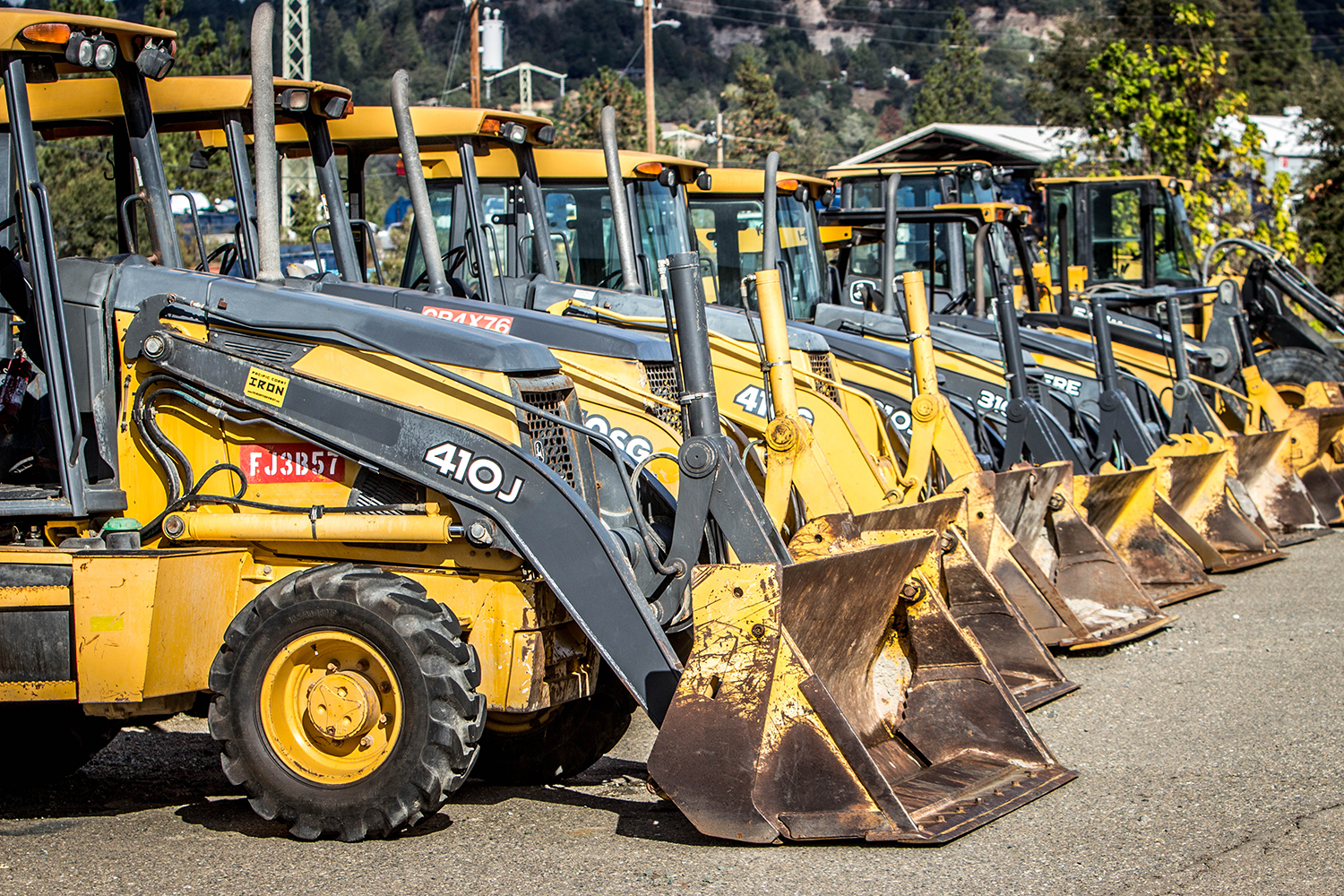 Construction Equipment Photography